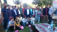 HALK EĞİTİM - Diyarbakırlı Türkiye 1'İncileri Yemekte Bir Araya Geldi