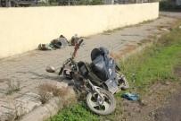 OSMAN AYDıN - Dolmuş İle Elektrikli Bisiklet Çarpıştı Açıklaması 1 Ölü