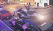 FARABI - Halay Başı Kavgasında Otomobille Ezilen Gencin Durumu Ağır