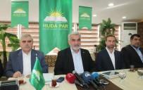 BASIN TOPLANTISI - HÜDA-PAR Genel Başkanı Yapıcıoğlu Elazığ'da
