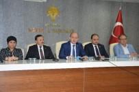 BASIN TOPLANTISI - Manisa AK Parti'den PKK'nın Siyasetçilere Saldırılarına Tepki