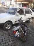 GÖLBAŞI - Motosikletle Otomobil Çarpıştı Açıklaması 1 Yaralı