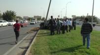 GÖBEKLİTEPE - Otomobil Aydınlatma Direğine Çarptı Açıklaması 1 Yaralı