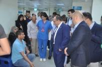 İL SAĞLIK MÜDÜRÜ - Sağlık Müdürü Dr. Özer Hastaneleri Denetledi