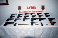 SİLAH TİCARETİ - Söke'de Çok Sayıda Silah Ele Geçirildi