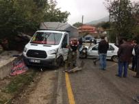 BAŞTÜRK - Tokat'ta Trafik Kazası Açıklaması 1 Ölü, 3 Yaralı
