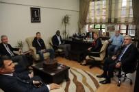 ULUSLARARASI - Üniversiteler Arası Güreş Şampiyonası Heyetinden Gül'e Ziyaret
