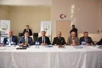GENÇLİK MERKEZİ - Vali Mehmet Aktaş Eskipazarlı Muhtarlarla Bir Araya Geldi