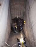 200 Metre Derinliğindeki Kanala Düşen Köpeği, AFAD Kurtardı