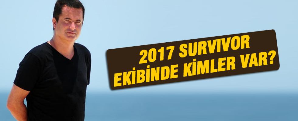 2017 Survivor ekibinde kimler var?