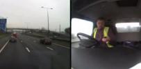 Trafikte cep telefonu dehşeti