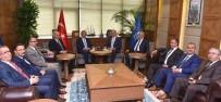 MEHMET ÖZHASEKI - Bakandan Bursa'nın Dönüşümüne Destek