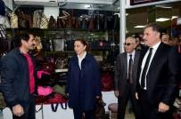 KAPALI ÇARŞI - Başkan Çakır İnönü Kapalı Çarşısı Esnafı İle Bir Araya Geldi