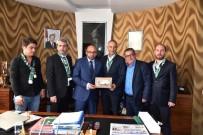 Başkan Üzülmez'den Kocaelispor'a Maddi Destek