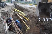 SU ŞEBEKESİ - Büyükşehir Yakutiye'de 34 Bin 765 Metrelik İçmesuyu Hattını Yeniledi