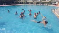 YÜZME KURSU - Cizre'de Yüzme Kursu Sona Erdi