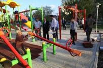 TAHTEREVALLI - Çocuk Hastanesi'ne Oyun Parkı Kuruldu