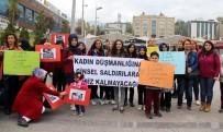 KIZ ÇOCUĞU - Çocuk İstismarına Ve Kadına Yönelik Şiddete Karşı Basın Açıklaması Yaptılar