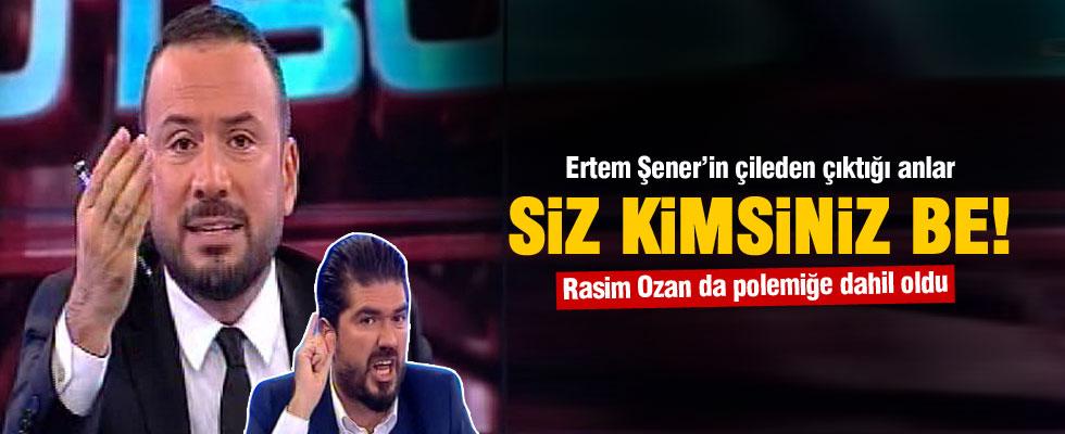Ertem Şener'in çileden çıktığı anlar...