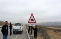KARAYOLLARI - Erzurum - Erzincan Karayolu'na 'Boz Ayı' Uyarı Tabelaları Konuldu