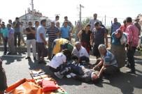 POLİS EKİPLERİ - Fethiye'de Kaza Sonarsı Halk Yolu Trafiğe Kapattı