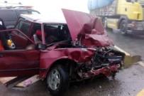 ZIGANA - Gümüşhane'de Trafik Kazası Açıklaması 2 Ölü, 1 Yaralı