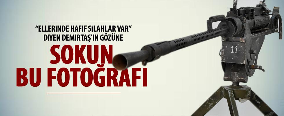 PKK operasyonunda ele geçirilen silahlar sergilendi