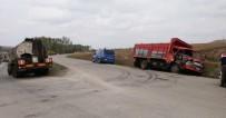 KADER - Kamyon İle Tanker Çarpıştı Açıklaması 1 Yaralı