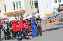 TATBIKAT - Karaman Devlet Hastanesi'nde Afet Ve Olağan Dışı Durumlara Karşı Tatbikat Yapıldı