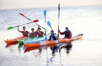 SU SPORLARI - Karşıyaka'da 'Su Sporları Merkezi' Açıldı