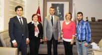 MEHMET GÜRKAN - Marmaris Ticaret Odasından Tarihi Alan Başkanlığına Ziyaret
