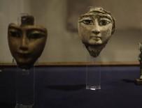TARİHİ ESER KAÇAKÇILIĞI - Mısır'da kaçakçıların elinde yakalanan tarihi eserler sergileniyor
