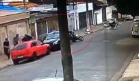 Silahlı saldırı saniye saniye kamerada