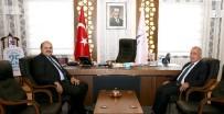 YOL HARITASı - Rektör Çomaklı'dan Başkan Orhan'a Ziyaret