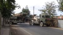 FIRAT KALKANI - Suriye Sınırına Tank Sevkıyatı Sürüyor