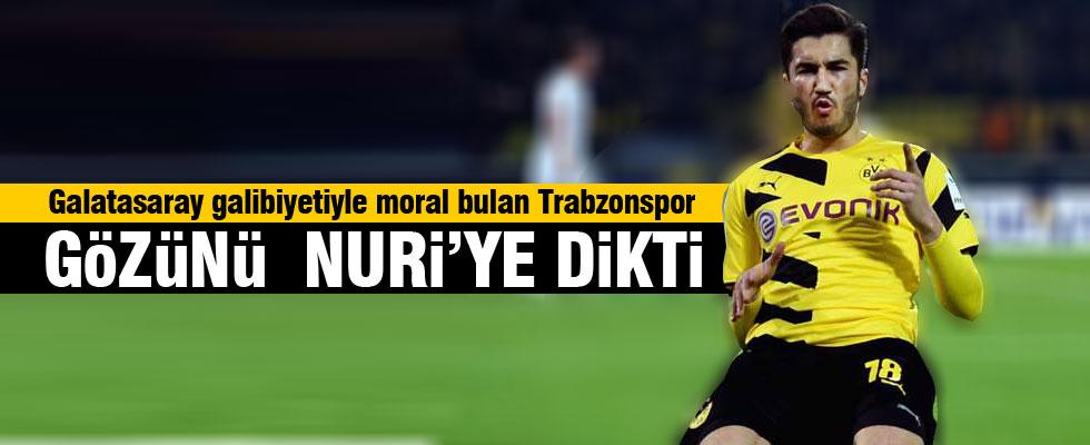Trabzonspor Nuri'nin peşinde
