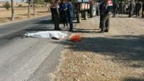 BELEVI - Traktörden Düşen Kadın Hayatını Kaybetti