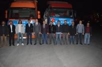 BEBEK MAMASI - Ülkü Ocakları'ndan Türkmendağı Ve Cerablus'a 2 TIR Yardım