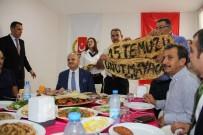 AHMET ÜNAL - Vali Çakacak, MGC'de Gazetecilerle Buluştu