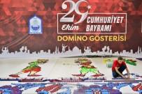 AHMET YENİLMEZ - Yıldırım Belediyesi 300 Bin Domino Taşı İle Rekor Kıracak