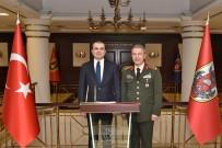 BAŞMÜZAKERECI - AB Bakanı Çelik'ten Genelkurmay Başkanı Akar'a Ziyaret