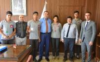 GÜBRE - Abdulkadir Perşembe Vakfı Mesleki Ve Teknik Anadolu Lisesi'nden Müdür Koca'ya Ziyaret