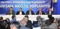 GENÇLİK KOLLARI - AK Parti Danışma Meclisi Toplandı