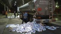 TARİHİ ESER KAÇAKÇILIĞI - Akaryakıt Tankerinden Kaçak Sigara Çıktı