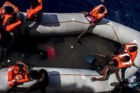 SAĞLIK EKİPLERİ - Akdeniz'de facia: 25 ceset bulundu