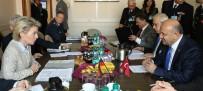 ALMANYA - Alman Savunma Bakanı Leyen İle Görüştü