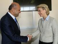 ALMANYA - Bakan Işık, Alman Savunma Bakanı Leyen İle Görüştü