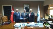 GENEL BAŞKAN - Başkan Şahin Bafra İçin Ankara'da