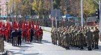 TRAFİK POLİSİ - Erzurum'da 29 Ekim Cumhuriyet Bayramı Etkinliklerinin Provası Yapıldı