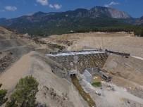 ANTALYA - Finike Kapıçay Baraj İnşaatı Hızla İlerliyor